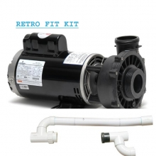 Cal Spa 4 HP DUALLY PUMP RETROFIT KIT