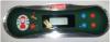 Coleman spa topside control panel COLE700S, 7 BUTTON 3 PUMP